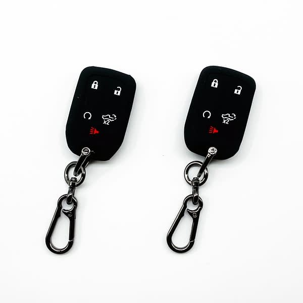 2PCS Key Fob Case Cover Chevy Silverado