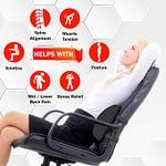Soft Memory Foam Lumbar Support Cushion Pillow-3