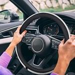 Diamond Leather Steering Wheel Cover-3